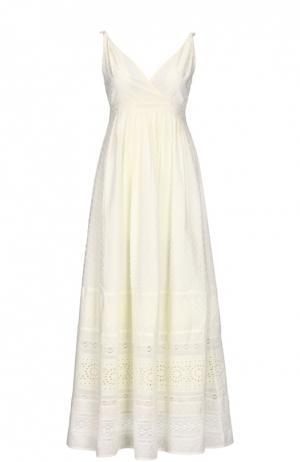 Платье Gerard Darel. Цвет: белый