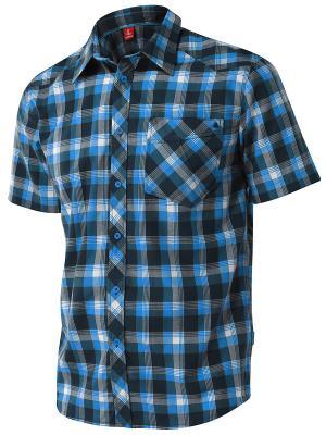 Рубашка Tencel Loeffler. Цвет: синий