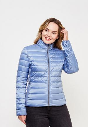 Куртка утепленная Gerry Weber. Цвет: голубой
