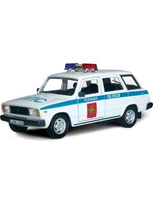 Машина LADA 2104 полиция AUTOTIME. Цвет: белый