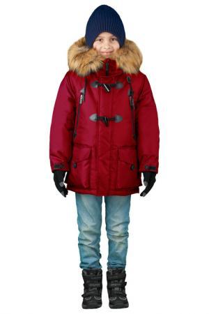 Куртка BOOM. Цвет: красный
