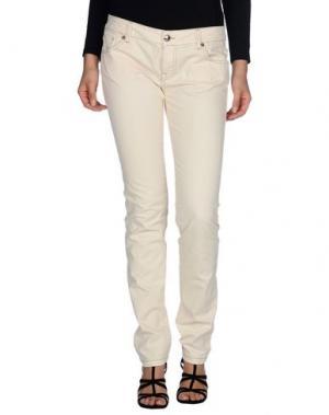 Повседневные брюки CESARE PACIOTTI 4US. Цвет: бежевый