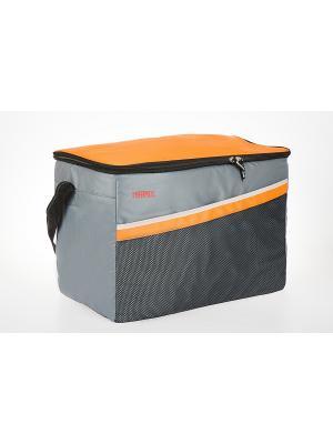 Сумка- термос  Classic 48 Can Cooler Thermos. Цвет: серый, оранжевый