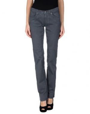 Джинсовые брюки JECKERSON. Цвет: свинцово-серый