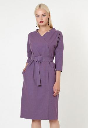 Платье Lova. Цвет: фиолетовый