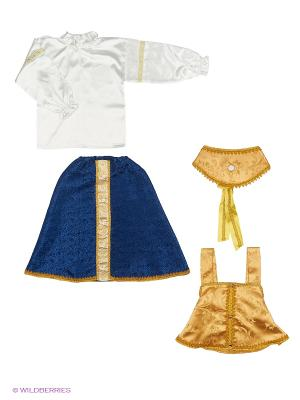Царевна Карнавальный костюм Волшебный мир. Цвет: золотистый