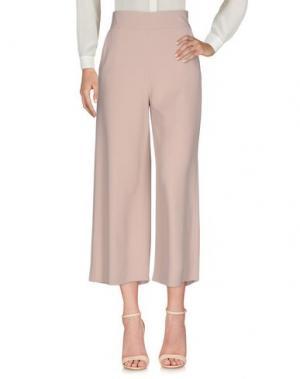 Повседневные брюки QL2 QUELLEDUE. Цвет: розовый