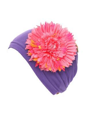 БАНДАНА Jane Flo. Цвет: фиолетовый