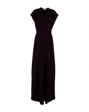 Длинное платье LUISA BECCARIA. Цвет: темно-фиолетовый