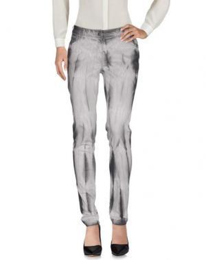 Повседневные брюки NÜ DENMARK. Цвет: серый