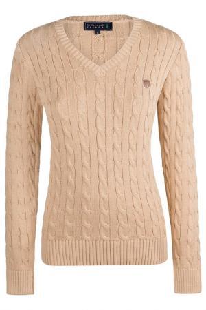 Пуловер Sir Raymond Tailor. Цвет: бежевый