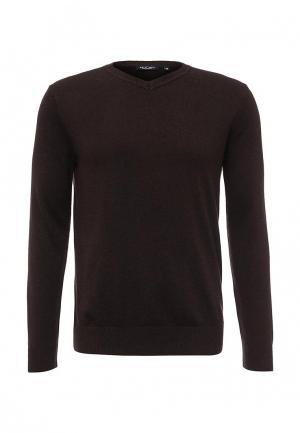 Пуловер Sela. Цвет: коричневый