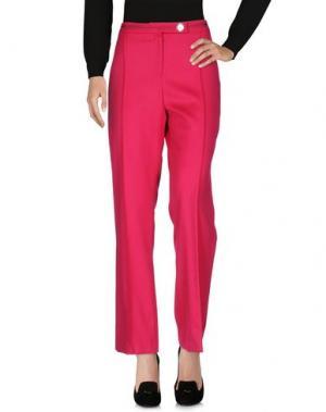 Повседневные брюки FONTANA COUTURE. Цвет: пурпурный