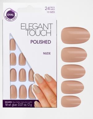 Elegant Touch Ногти Polished. Цвет: красный
