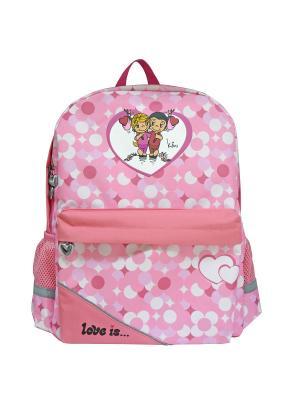 Рюкзак LOVE IS Action!. Цвет: розовый