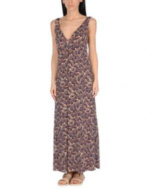 Пляжное платье SIYU. Цвет: фиолетовый