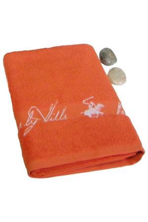 Банное полотенце, 80х150 Beverly Hills Polo Club. Цвет: оранжевый