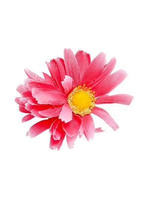 Зажим-брошь Kameo-bis. Цвет: розовый, желтый, серебристый