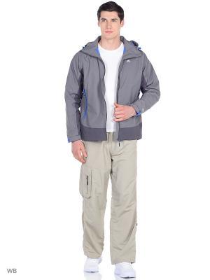 Куртка Trespass. Цвет: темно-серый