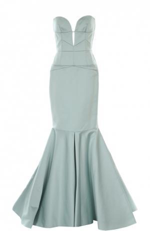 Платье J.Mendel. Цвет: голубой