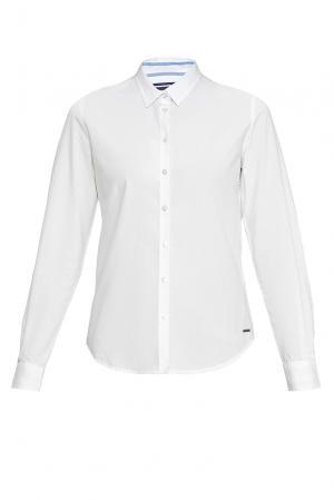 Рубашка из хлопка 170657 Saint James. Цвет: белый