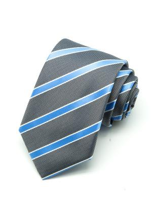 Галстук Angelo Bonetti. Цвет: серый, голубой