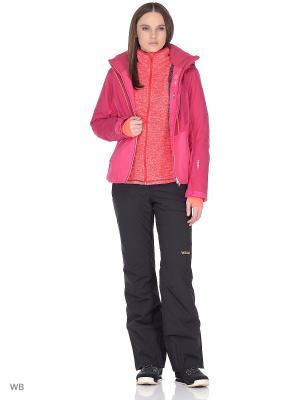 Куртка сноубордическая Volkl. Цвет: бордовый, лиловый