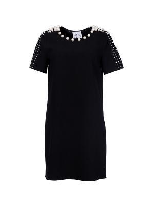 Платье Edward Achour (Франция) 415006-9612B. Цвет: черный