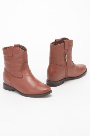Ботинки Studio Italia. Цвет: оранжевый