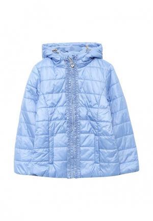 Куртка утепленная Sela. Цвет: голубой