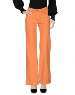 Повседневные брюки MURPHY & NYE. Цвет: оранжевый