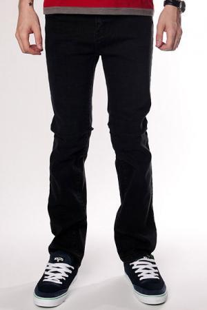 Джинсы узкие  Jeans Black Zero. Цвет: черный