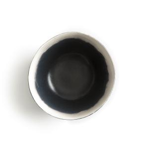Комплект из 4 чашек фаянса, Asakan, дизайн В. Барковски AM.PM.. Цвет: черный/ белый
