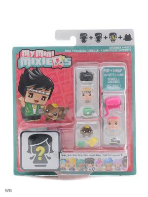 Набор из трех фигурок My Mini Mixiqes Mattel. Цвет: зеленый, красный, фуксия