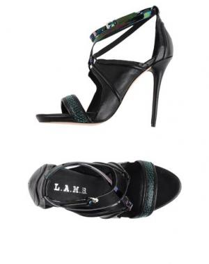 Сандалии L.A.M.B.. Цвет: черный