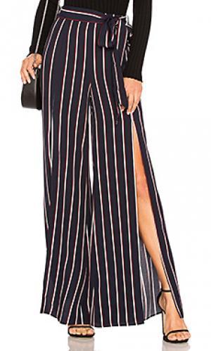 Широкие брюки claude LAcademie L'Academie. Цвет: синий