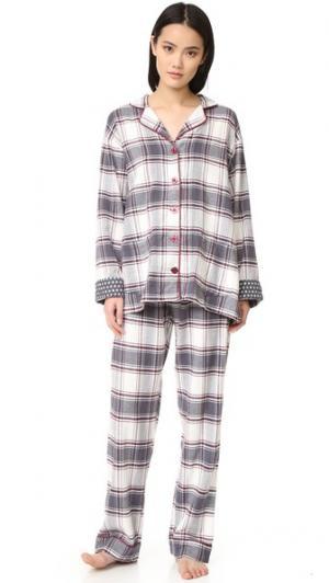 Пижама Nordic Nostalgia PJ Salvage. Цвет: серый