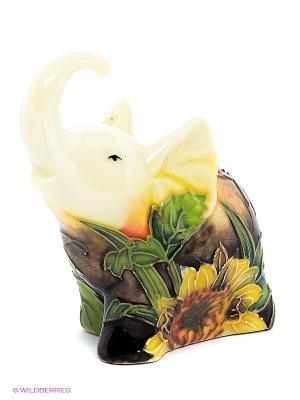 Фигурка Слоник (Pavone) Pavone. Цвет: молочный, красный, желтый, зеленый, коричневый