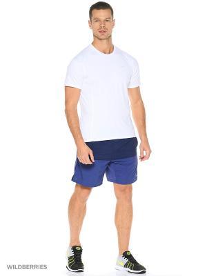 Шорты 7 DISTANCE SHORT (SP15) Nike. Цвет: темно-синий, темно-фиолетовый