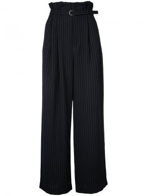 Pleated wide trousers G.V.G.V.. Цвет: синий