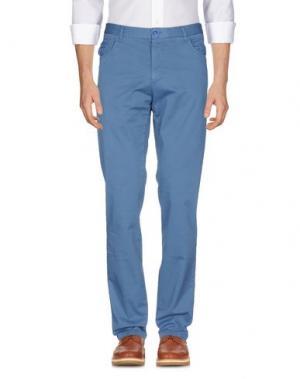 Повседневные брюки VERDERA. Цвет: пастельно-синий
