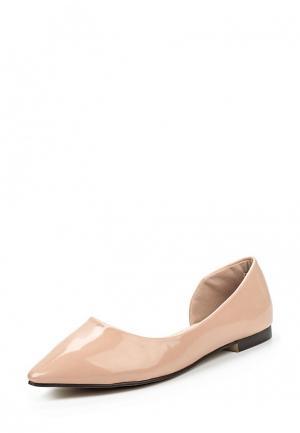 Туфли Sweet Shoes. Цвет: бежевый