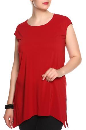 Блуза BERKLINE. Цвет: терракотовый