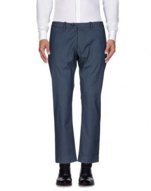 Повседневные брюки NINE:INTHE:MORNING. Цвет: темно-синий