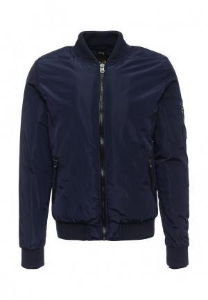 Куртка утепленная Born Rich. Цвет: синий