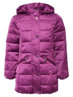 Пальто Finn Flare. Цвет: сиреневый