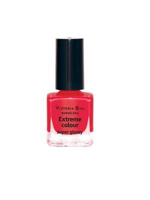 Лак для ногтей  Extreme Colour №225 Victoria Shu. Цвет: коралловый