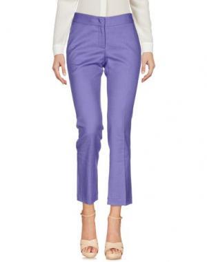 Повседневные брюки GOLD CASE. Цвет: фиолетовый