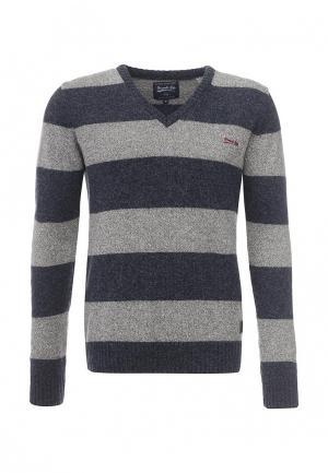 Пуловер Frank NY. Цвет: серый
