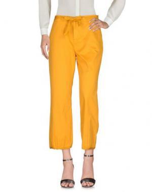 Повседневные брюки FAIRLY. Цвет: абрикосовый